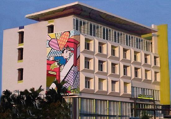 Maxone Hotels.com @Vivo Palembang Balcony