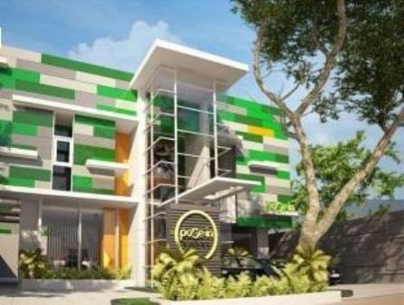Pose In Hotel Yogyakarta Exterior